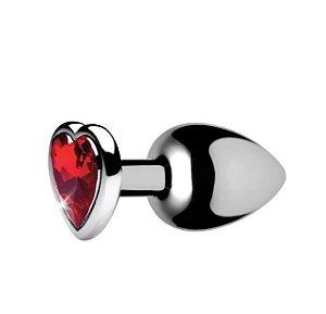 Plug Metal - M - Coração (PL009M)