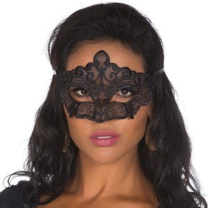 Máscara Sexy de Renda