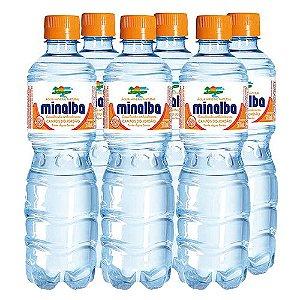 AGUA MINERAL COM GAS MINALBA UND 510ML