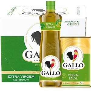 AZEITE EXTRA VIRGEM PORTUGUES GALLO VIDRO 500ML