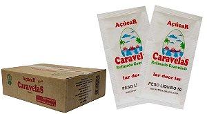 SACHE ACUCAR REFINADO CARAVELAS 400X5G