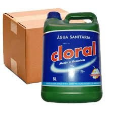 AGUA SANITARIA CLORAL 5L