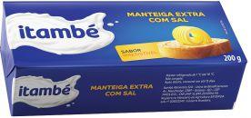 MANTEIGA ITAMBE C/SAL TABLETE 200G