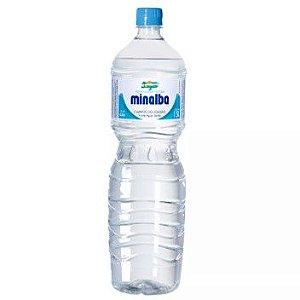 AGUA MINERAL SEM GAS MINALBA 1,5L - UNIDADE