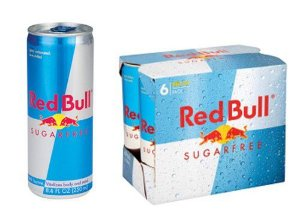 ENERGETICO RED BULL SUGAR FREE 4X250ml