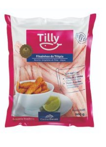 FILE DE TILAPIA TILLY 800G