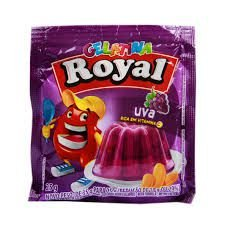 GELATINA ROYAL UVA 25G