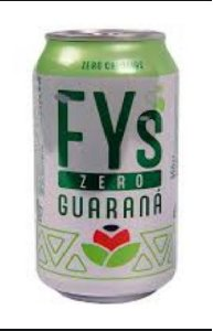 REFRI FYS GUARANA ZERO 350ML - unidade