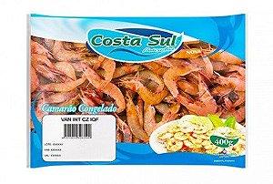 CAMARÃO INTEIRO COZIDO COSTA SUL 400G