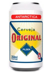 CERVEJA ORIGINAL ANTARTICA LT 350ML - UNIDADE