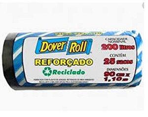 SACO LIXO DOVER ROLL 200 LITROS