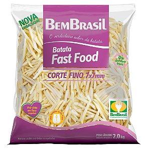 BATATA BEM BRASIL FAST FOOD 2KG