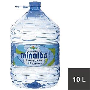 AGUA S/GAS MINALBA 10L