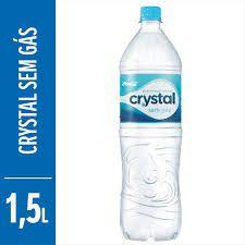 AGUA CRYSTAL SEM GAS 1,5 L