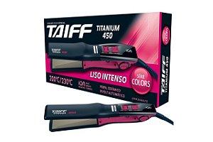Taiff Chapa Titanium 450 Colors Pink Bivolt