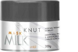 Knut Máscara De Brilho Tridimensional Milk 300g