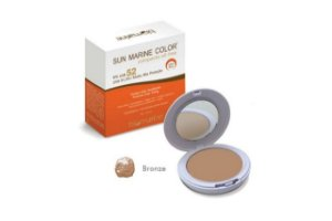 Biomarine Sun Marine Color Compacto FPS52 Bronze 12g