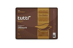 Tutti Depil Cela Depilatória A Quente Chocolate 1000g