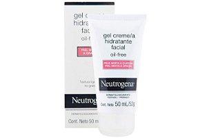 Neutrogena Gel Creme Hidratante Facial Pele Mista 50ml