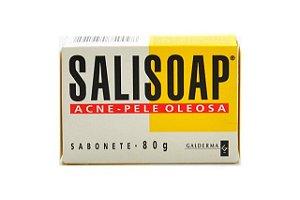 Galderma Salisoap Sabonete 80g