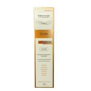 Profuse Clair Gel Creme Clareador FPS 25 30g