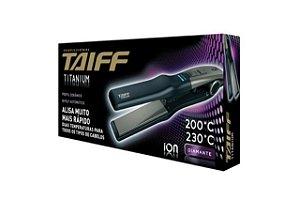 Taiff Chapa Titanium 450 Ion Diamante Bivolt