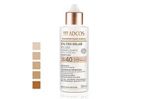 Adcos Filtro Solar Tonalizante FPS 55 Base Stick Bronze 12g