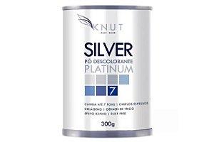 Knut Pó Descolorante Silver Platinum Colágeno 300g