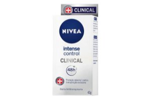 Nivea Desodorante Clinical Intense Control 42g
