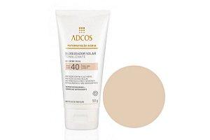 Adcos Filtro Solar Tonalizante Gel Creme Ivory Facial FPS40 50g