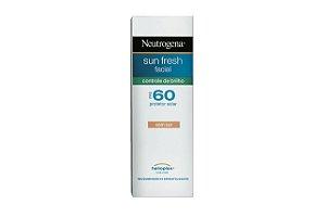 Neutrogena Sun Fresh Facial Controle de Brilho FPS60 50ml