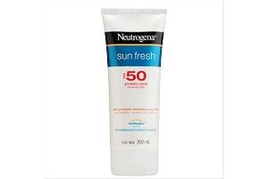Neutrogena Protetor Solar Sun Fresh Fps 50 200ml