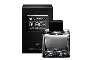 Antonio Banderas Seduction In Black For Men Edt 100ml