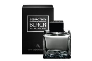 Antonio Banderas Seduction In Black For Men Edt 50ml