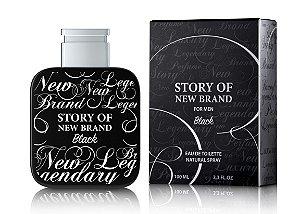 New Brand Story Of New Brand Black For Men Edt 100ml