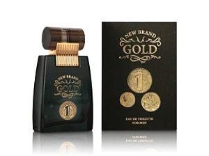 New Brand Prestige Gold For Men Edt Spray 100ml