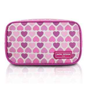 Jacki Design Necessaire E Estojo Coração Rosa