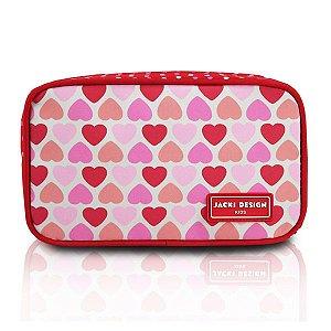 Jacki Design Necessaire E Estojo Coração Vermelho