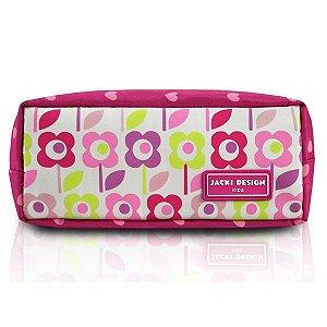 Jacki Design Necessaire E Estojo Flor Cor Pink