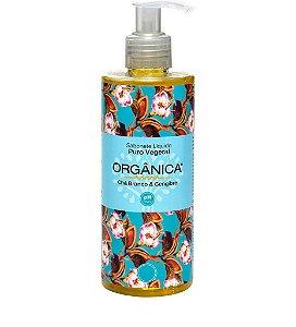 Orgânica Sabonete Liquido Puro Vegetal Chá Branco e Gengibre 250ml