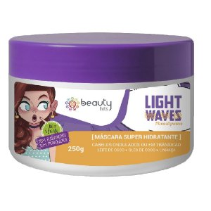 Beauty Hits Máscara Light Wave 250g