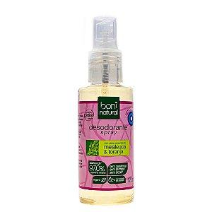 Boni Natural Desodorante Spray Melaleuca e Toranja 120ml