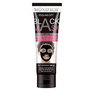 MondSub Black Peel Off Máscara Anti-cravos 100ml