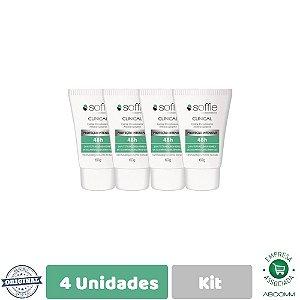 Soffie Kit Com 4 Clinical Desodorante Antitraspirante 60g