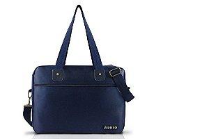 Jacki Design Bolsa para Trabalho Masculina Cor Azul