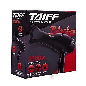 Taiff Secador Black Íon 2000w Preto e Vermelho 110V