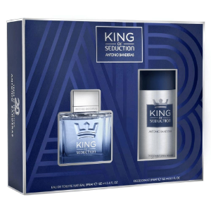 Antonio Banderas Kit King Of Seduction Perfume Masculino 100ml + Desodorante 150ml