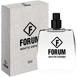 Forum Deo Colônia White Denim Perfume Unissex 50ml
