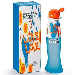 Moschino I Love Love Edt Perfume Feminino 100ml