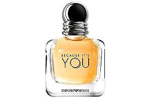 Emporio Armani Because She Perfume Feminino Eau de Parfum 100ml